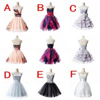 2015 Strapless A Line Short Homecoming Dresses 2016 Low Pric...