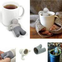 New Fashion Teapot cute Mr Tea Infuser Tea Strainer Coffee &...