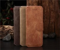 Luxury Retro Vintage Wallet Leather Case Cover Pouch with st...