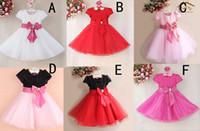 6 Design Girls Lace paillette flower bowknot Dress 2016 new ...
