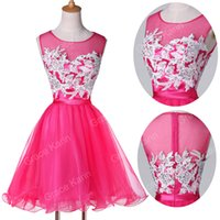 Grace Karin 2015 Hot Lady Applique Short Homecoming gown Bri...