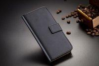 Galaxy Note 4 casos Monedero PU cubierta de la caja del cuero del tirón con la tarjeta de crédito ranuras Soporte para Samsung Galaxy Note 3 S5 para ASUS ZenFone 2/4/5/6
