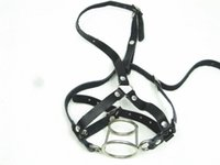 Harness Mouth Gag Mouth Bite Double O Ring Gag Bondage Gear ...