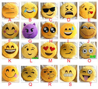 50pcs Cushion Cute Lovely Emoji Smiley Pillows Cartoon Facia...