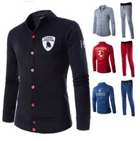 2014 fall autumn New hoodies sweatshirts sets for men casual...