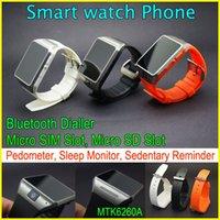 GV08 носимого Bluetooth Смарт часы-телефон с 1,3-мегапиксельной камерой шпионом, 1,54