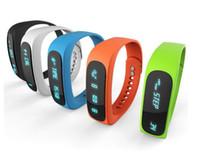Smartband E02 Health fitness tracker Sport Bracelet Waterpro...