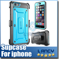 Unicorn Beetle PRO Series Robot supcase Heavy Duty Rugged Hybird 2 en 1 Soft TPU PC étuis pour iPhone SE Galaxy S6 edge