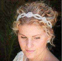 New Dazzling Crystal Rhinestones Bridal Headwear Tiaras wedd...