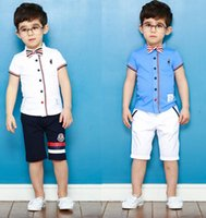 Boys Clothes 2015 Summer Kids Clothing Sets Boy Set Gentlema...