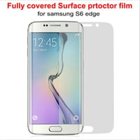 Screen Protector For Samsung Galaxy S6 Edge G9250 Fully Cove...