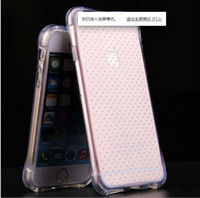 For iPhone SE 4 5s 6 6s plus Soft TPU Transparent air bag an...