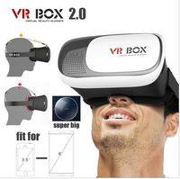 VR BOX 2. 0 Version Head Mount Plastic Virtual Reality Glasse...