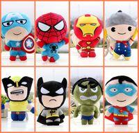 The Avengers 2 Plush Toys Marvel Heros Action Figures Captai...