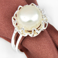 5pcs lot Newest Round Natural Pearl Gemstone 925 Sterling Si...