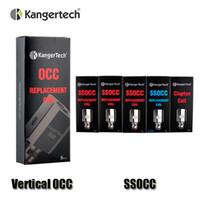Bobines verticales authentiques Kollowtech SSOCC 0.15 / 0.2 / 0.5 / 1.2 / 1.5ohm Bobine pour Kanger Subtank Mini V2 Atomizer