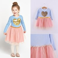 Baby Girls Dress 2015 New Autumn Girls long sleeve Dresses l...