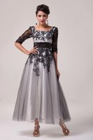 Grace Karin Real Image Half Sleeve Lace & Tulle Mother of th...