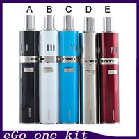 Joyetech ego un kit avec batterie 2200mah de 1100mah 2.5ml / 1.8ml atomiseur cigarette électronique ego Kits ajustement bobines Joyetech vs snoop dogg 0266007-2