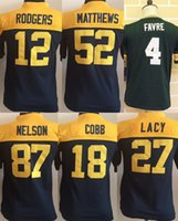 Packers Youth Throwback Jerseys 52 Clay Matthews 12 Aaron Ro...