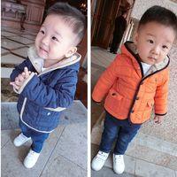 Baby Boys Thicken Fur Winter Coats Children Clothing Fleece ...