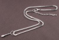 6PCS Shiny Silver Metal Microphone Pendant Chain Necklace #9...