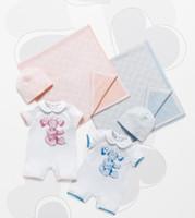Baby Fruit Fresh Romper Short Sleeve Letter Teddy Bear Print...