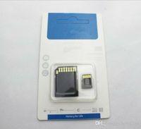 Hot 2015 de 64 GB tarjeta SD Micr MicroSD TF tarjeta de memoria flash SDHC Clase 10 SD buenas YG 0-8 TF 100pcs adaptador libre del paquete al por menor