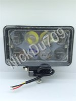24W Automotive LED Flood Lights Lens Work Light Fog Lamp For...