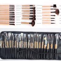 Hot 24 Makeup Brushes Tools Set Professional Cosmetic Brush ...