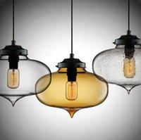 AC110V 220- 230V Modern Minaret Vintage art glass chandelier ...