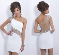 2016 Special Occasion Homecoming Cocktail Dresses Sequins Sh...