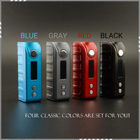 Authentic Tesla 80W TC Box Mod Cool Design Fit Single 18650 ...