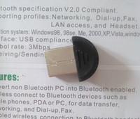 100 pcs USB 2.0 Mini Bluetooth V2.0 EDR Dongle Adaptateur sans fil / Mini USB dongle 2.0
