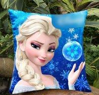 10pcs lot Frozen Anna Elsa Pillows Double Side Mulity Patter...