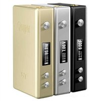 Lo nuevo Cloupor GT TC 80W Caja Mod temperatura mods de control 3 colores encajan 18650 VS mini cloupor plus