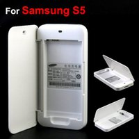 For Samsung Galaxy S5 I9600 Battery Charging Case Dock Box W...