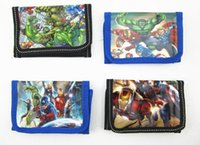 Children wallet The Avengers 2 Age of Ultron super heros boy...