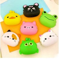 Factory price Cute Mini key Wallet bag Women Silicone Coin P...