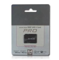 whosale DHL NUEVO 80pcs / lot del regalo del envío libre NUEVO 64GB MICROSD NewClass 10 MICRO SD MICRO TF FLASH CARD00 MEMORIA