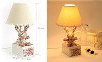 10pcs a bag Floral fabric pastoral style cartoon rabbit lamp...