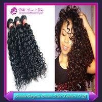 On sale 3pcs lot 5A brazilian deep wave virgin hair, brazill...