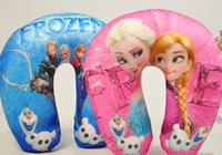 Frozen U- shape Neck Pillow and Cushion big hero 6 minions ne...