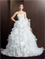 sensational 2015 Ball Gown Strapless Appliques bodice With O...