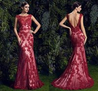 Real Picture Zuhair Murad Celebrity Red Carpet Dresses 2015 ...