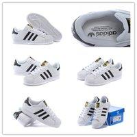Size 36- - 45 Originals Superstar White Black Stripe C77124 Un...