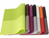 45 * 30 см Прямоугольная сетка ПВХ изоляционные коврики Западная подушка обеденный стол коврик Простая чистая подставка для столовых приборов
