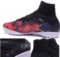2015 new Mercurial Superfly CR7 TF Athletic Outdoor mens Soc...