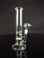 Honeycomb percolater 14.5mm bong verre pipe d'eau droite HOT dia 38mm gros mini bong bon marché
