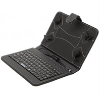 "iRULU 7"" PU Leather Keyboard Stand Case For 7 Inch Q88 ..."